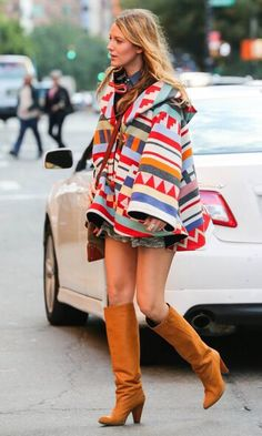 10/17/14 - Blake Lively shopping in NYC.