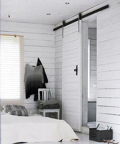 skjutdörr gästhuset/beachhuset (till duschrum)