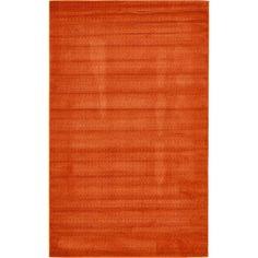 Unique Loom Evo Orange Area Rug | AllModern