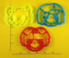 Lalaloopsy Cookie Cutter Set of 3. $15.50, via Etsy.