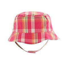 1f4cc9a7d52 Pink Plaid Bucket Sun Hat 6-18 months Baby Eyes
