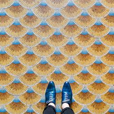 This Photographer is Capturing the Most Beautiful Flooring in Paris - Creators Floor Patterns, Tile Patterns, Textures Patterns, Geometric Patterns, Floor Design, Tile Design, Pattern Design, Mosaic Art, Mosaic Tiles