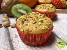 Muffin Arancia e Kiwi - ricetta vegan