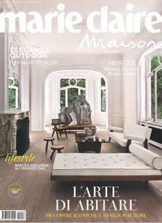 Here is a recent publication of Olivier Dwek Architecture appearing on the cover of the ‪Marie Claire Maison‬ Italy, distributed for the ‪ArtBasel‬ International show 2015. www.olivierdwek.com
