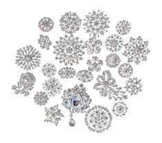 Amazon.com: Mon Coeur bridal and wedding Lot 25pc brooch button bouquet kit: Jewelry