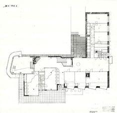 Villa Mairea. Final upper-floor plan.