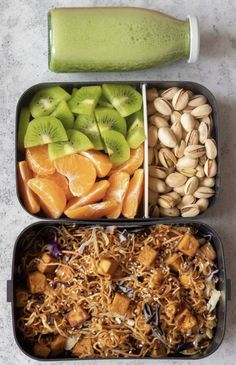 5 Easy Vegan Lunch Box Ideas for Work (Adult Bento) - Syaq Ila These Easy Vegan . - 5 Easy Vegan Lunch Box Ideas for Work (Adult Bento) – Syaq Ila These Easy Vegan Lunch Box Ideas f - Easy Vegan Lunch, Vegan Lunches, Vegan Meal Prep, Lunch Meal Prep, Easy Vegan Meals, Tasty Meals, Clean Eating Snacks, Healthy Snacks, Healthy Eating