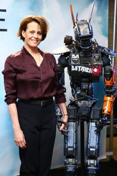 Sigourney Weaver at event of Chappie (2015)