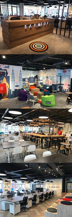 Malaysia's Coolest coworking space. Vibrant, chill and cozy at the same time. Sandbox is designed keeping the needs of freelancers, remote workers and digital nomads in mind