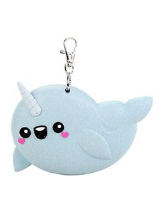 Narwhal Glitter Coin Purse,