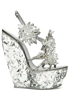 #Stunning Women Shoes #Shoes Addict #Beautiful High Heels #Wonderful Shoes #Shoe Porn    Casadei - Casadei for Swarovski - 2013 Pre-Spring