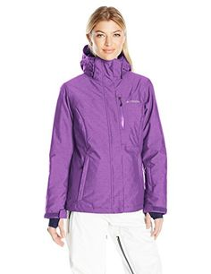 Columbia Womens Alpine Action Oh Jacket Iris Glow Small >>> Find out more about the great product at the image link.(This is an Amazon affiliate link and I receive a commission for the sales) #LadiesCoatsandJackets