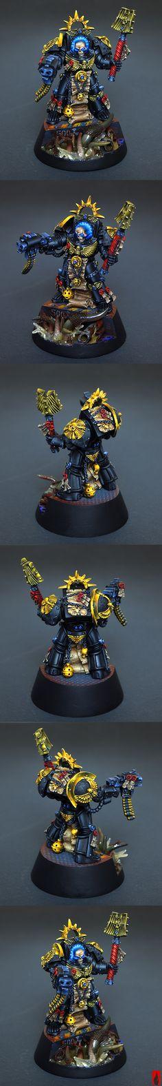 Space Marines Terminator Chaplain