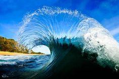 beautiful water in motion shot