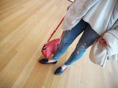 #aninebing jeans #stevemadden shoes #michaelkors bag #ELLINORSANDE