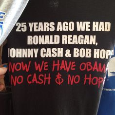 lol! so true! no hope  cash! # funny obama joke t-shirt
