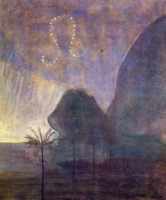 Leo 1907 by Mikalojus Ciurlionis