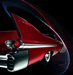 The 1958 Cadillac Series Sixty-Two convertible. Travel to infinity and beyond in style ... and with the top dow