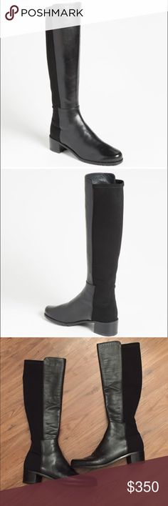 Shoes Heels Boots, Heeled Boots, Fashion Design, Fashion Tips, Fashion Trends, Knee High Boots, Stuart Weitzman, Riding Boots, Times