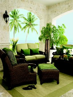 Tommy Bahama -  Comfortable, relaxing, and truly exquisite.