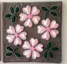 Flower string art, flower wall decor, home decorations, gift for grandma, proceds go to non-profit
