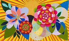 Beatriz Milhazes, Gamboa Seasons: Summer Love, 2010