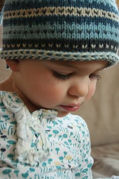Cute baby hat pattern