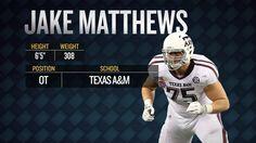 2014 NFL Draft: Jake Matthews Scouting Report