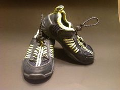 EUC Boy's Sperry Top Sider Navy Blue/lime Mesh Watershoes Size Toddler 6 #Sperry #WaterShoes