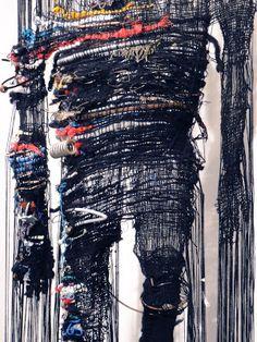 A Struggle to Get Out, 2011, by Britta Fluevog