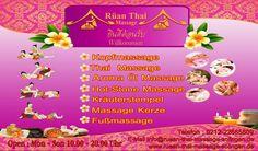 Thai Massage Solingen -Unsere Angebote