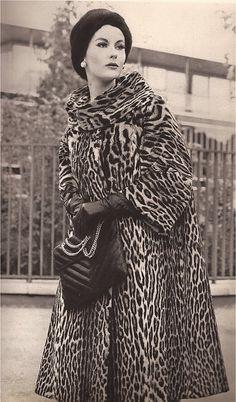 Femme Chic Fur  1962  Andre Sauzaie