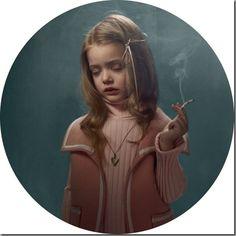 Smoking Kids portraits by photographer Frieke Janssens in Photographie Smoking Photos, Janssen, High By The Beach, Elizabeth Woolridge Grant, Little Buddha, Kids Series, Kino Film, Glamour Shots, Photo Series