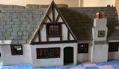 Vintage Dolls House With Some Furniture, Project, 1920  | eBay