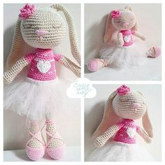 Ella es Allegra ! Nuestra bailarina de ballet más linda y romántica !! Our prettier and romantic ballerina of ballet. She is Allegra !  #crochet #amigurumi #amigurumidoll #ganchillo #crochetlove #crochetaddict #crochetart #instacrochet #loveit #handmade #madewithlove #love #ballet #erasetejidos #craftsposure #toys_gallery