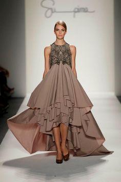 Jusil Caroll - Made with Supima Shirting Fabric Fashion Week 2011