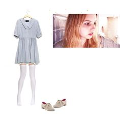 Stay by simpletreasures on Polyvore featuring arte, stay, skins, season 4, safetysuit, cassie ainsworth, bbc, old, cassie and white knee highs