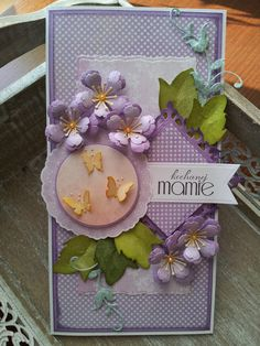 Frame, Floral, Card Ideas, Cards, Home Decor, Picture Frame, Decoration Home, Room Decor, Flowers
