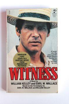 vintage paperback Harrison Ford movie @AnemoneReadsVintage anemonereadsvintage.etsy.com