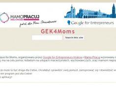 Campus for Moms - mamo załóż z nami własną firmę. Program realizowany wspólnie z Google for Entrepreneurs