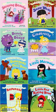 Les Petites Fairytales series: My 3 year old adores these books. Perfect for the little princess lover in your life.