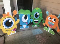 Monster Party Monster Birthday Monster Decor Monster