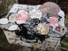 Prima Romance Novel altered box - Scrapbook.com