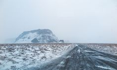 New free stock photo of cold snow landscape - Stock Photo