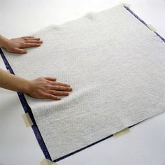 Layering the quilt top, batting, and backing before quilting is an important step in preparing your project for quilting. More