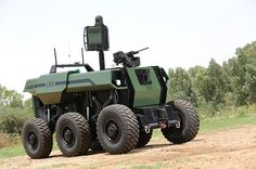 Amazing #RoBattle #unmanned ground vehicle by #Israel #Aerospace Industries