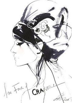 Gorgeous fashion illustration from David Downton.