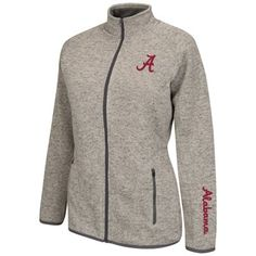 Alabama Crimson Tide Womens Avalanche Jacket – Gray