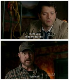 LMABO!!  6x18 Frontierland with Cas & Bobby