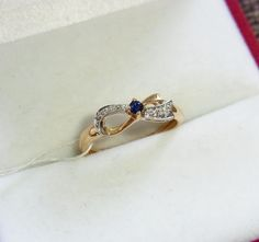 #14k #gold #sapphire #diamond #diamonds #ring #goldenring #золото #сапфир #бриллиант #кольцо #золотоекольцо #750gold